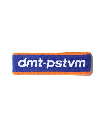 DMT LOGO HAIR BAND BLUE