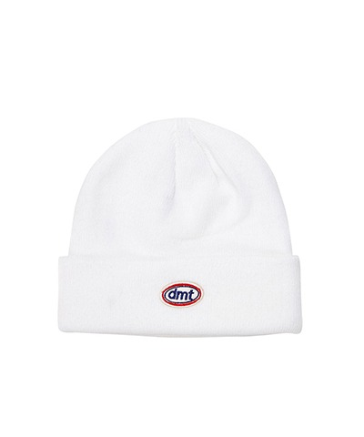 CIRCLE LOGO BEANIE CREAM
